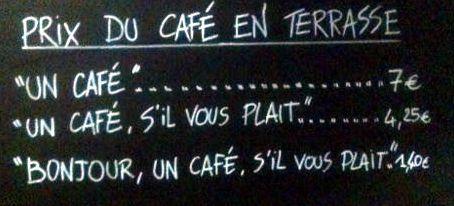 Na kolik si ceníte kávu?