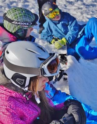 Jen lyže na lyžování nestačí