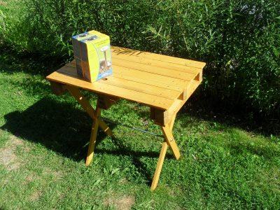 paletový stolek